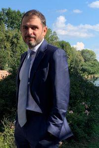 Alberto Viglio, commercialista, socio e collaboratore del Tesoriere dell'Associazione Curiosamente APS