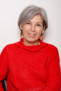 Primo piano di Anna Garbelli, socio fondatore, Presidente e Tesoriere dell'Associazione Curiosamente APS.